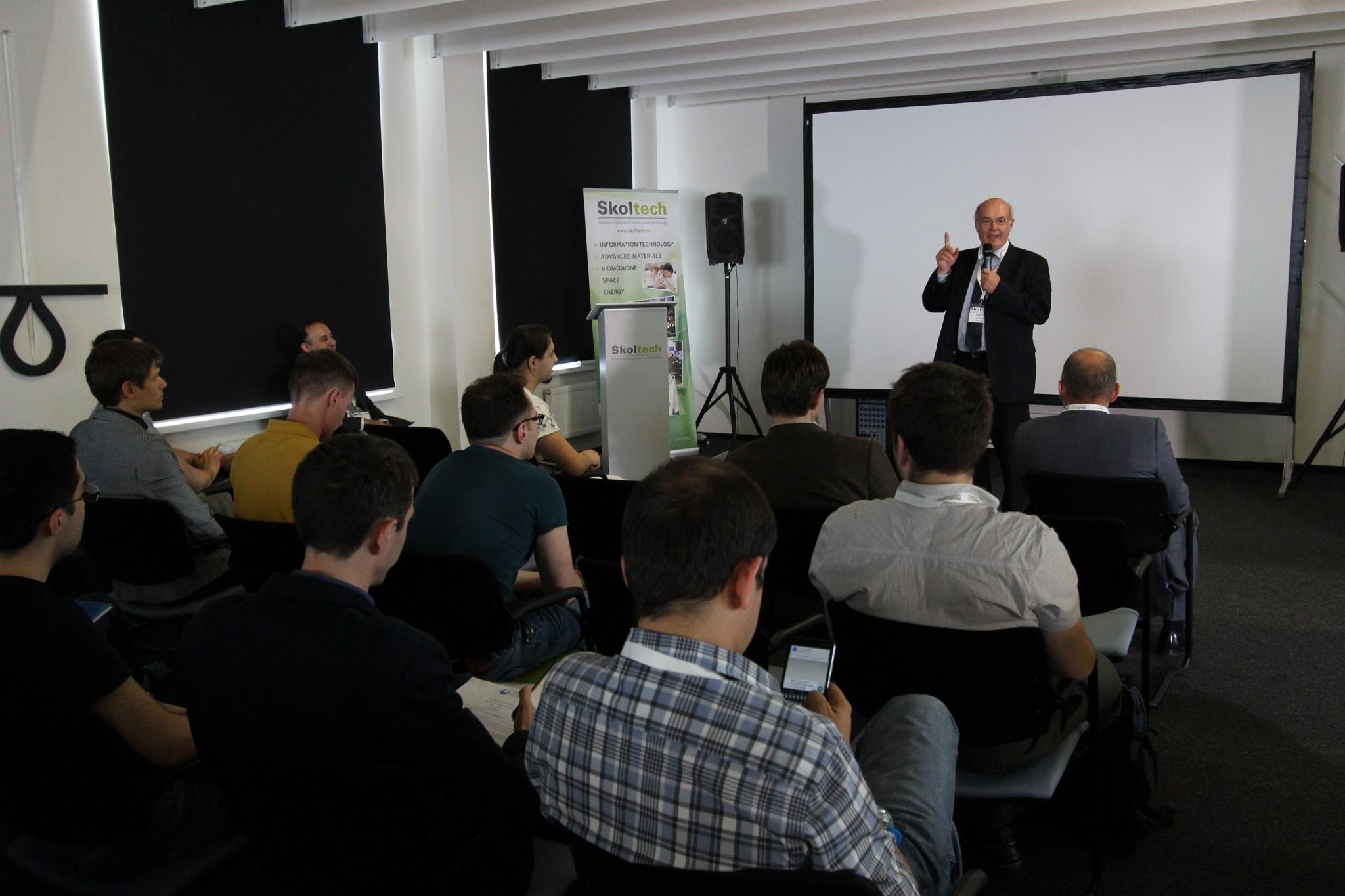 Prof. Rupert Gerzer, Provost of Skoltech