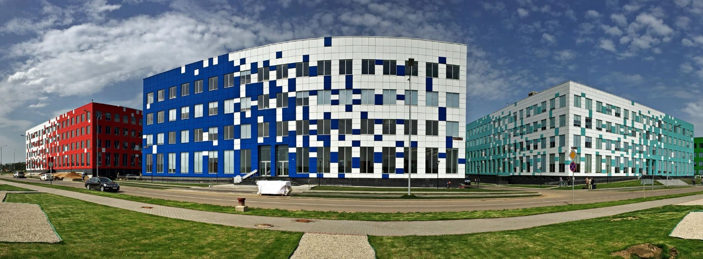 Skoltech's new building at the Technopark campus