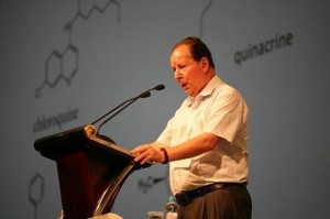 Professor Sidney Altman. Photo credit: Russian Academy of Sciences