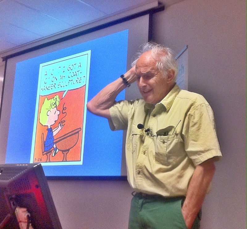 Harry Kroto: inspired by Snoopy, Copernicus and Darwin