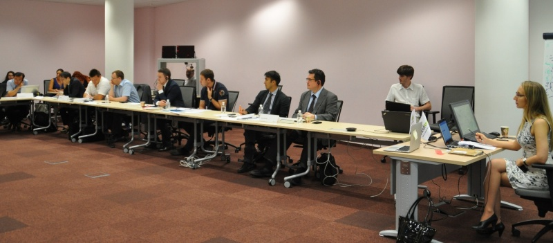 Skoltech center for Energy Systems held a seminar on the Asian supergrid. July 24 2014, Moscow