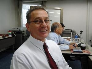 Prof Araken Alves de Lima, guest speaker at Skoltech seminar about intellectual property management in Brazil