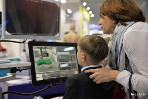 The next generation examining next generation technology.