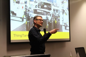 Professor Chris Speed, The University of Edinburgh leads the Thing Tank initative