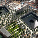 The World Trade Center memorial June 2012. Image courtesy of Wikipedia