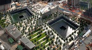 The World Trade Center memorial June 2012. Image courtesy of Wikipedia
