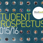 Skoltech Student Prospectus front cover