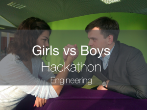 "An engineering hackathon titled ""Girls vs. Boys"" will be held by Skoltech students on December 6, 2014"