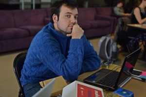 Andrii Omelianovich, Skoltech student currently studying and working with MIT's Grossman Group