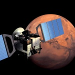 Mars Express in Orbit. Image courtesy of ESA