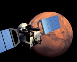 Mars Express in Orbit. Image courtesy of ESA