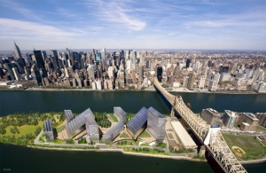 Cornell proposed campus in NYC. Image courtesy of  Cornell University.