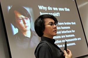 Humanoid robots pioneer Hiroshi Ishiguro, guest lecturer at Skoltech