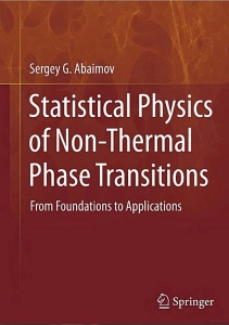 "Sergey Abaimov's book ""Statistical Physics of Non-Thermal Phase Transitions"" addresses the question how we can build analogies between statistical physics and such phenomena as earthquakes, snow-avalanches and landslides, failure of engineering structures, and economical crises. Understanding of this question might allow us to develop techniques to prevent these catastrophes"