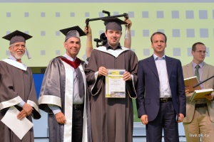 """Andrii Omelianovych:  """"I want this university to be proud of me"""""""