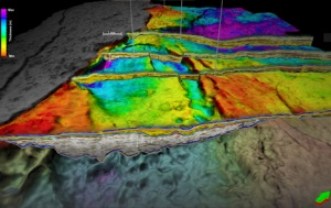 Subsurface imaging is crucial for oil exploration. Image courtesy of statoil