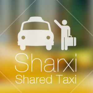 Sharxi - a shared rides app (click to enlarge)