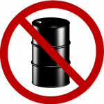 no oil sign