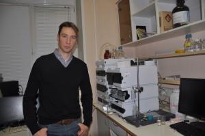 Хроматограф для очистки антибиотиков