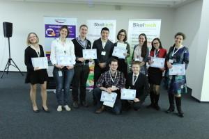 The winners of the Umnik prizes
