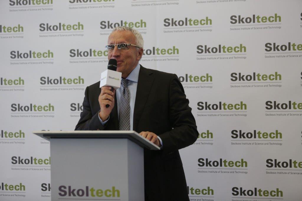 Skoltech's new President, academician Prof. Alexander Kuleshov.