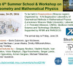 6th Summer School GEometry