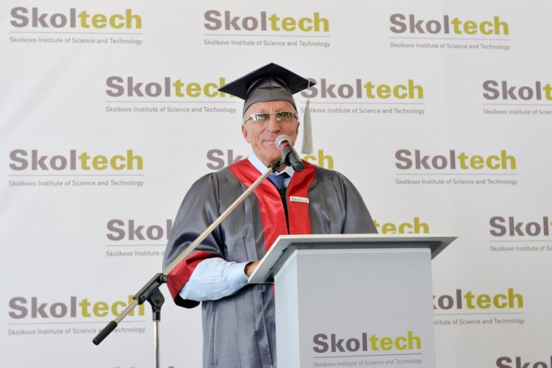 Academician Alexander Kuleshov, Skoltech President.