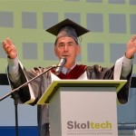 Professor Edward Crawley, the Founding President of the Skolkovo Institute of Science and Technology (Skoltech).