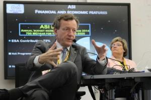 Prof. Roberto Battiston, the president of the Italian Space Agency.