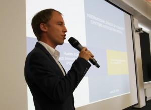 Innovation Program Specialist Rustam Kagirov.