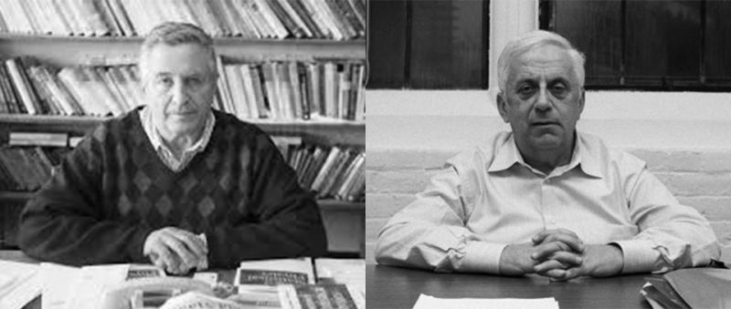 Yakov Sinai and Grigory Margulis