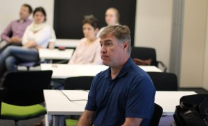 Prof. Keith Stevenson, CEE Director, during the workshop.